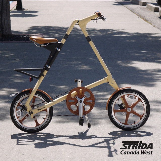 Strida LT Cream and Brown