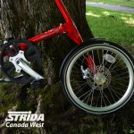 Strida EVO Red detail