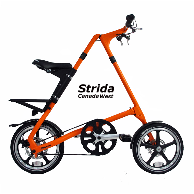 Strida Lt sunkist orange