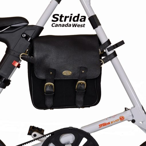 strida evo white with frame bag