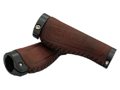 Strida Brown Leather Ergo Grip