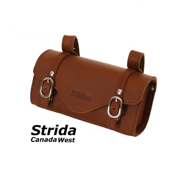 Strida Brown leather saddle bag