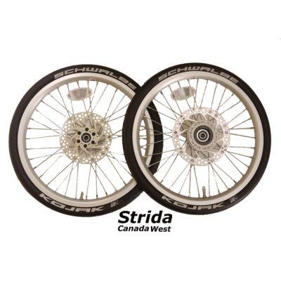 Strida 18 inch wheel set