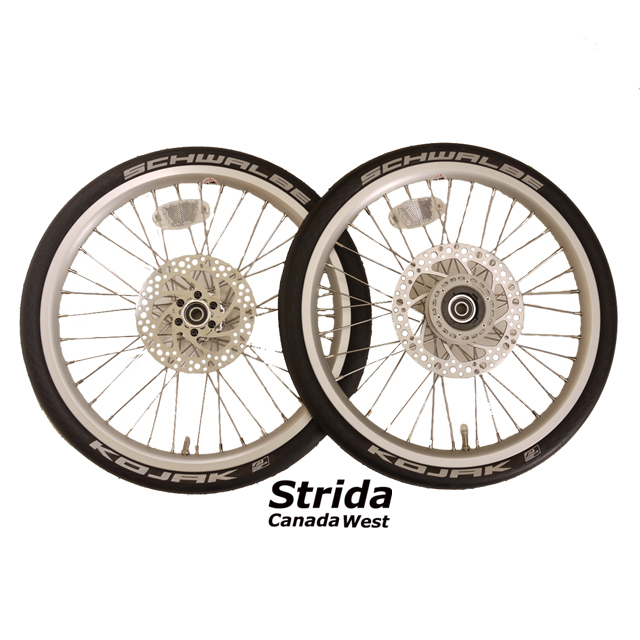 Strida 18 inch wheel set