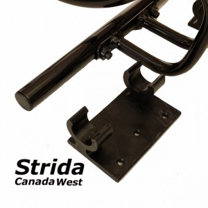 Strida bike stand detail