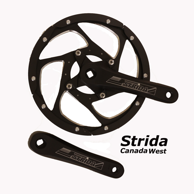Strida aluminum chainwheel