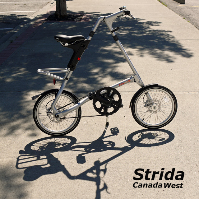 Strida EVO Sand Silver