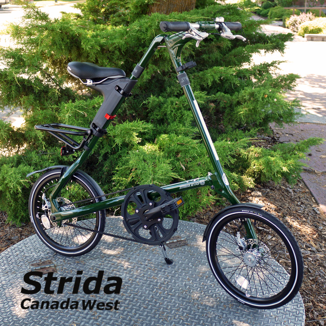 Strida EVO Dark Olive Green