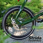 Strida EVO Dark Olive Green detail