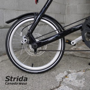 Strida EVO Dark Blue detail (Strida EVO Dark Blue 18 inch wheels)