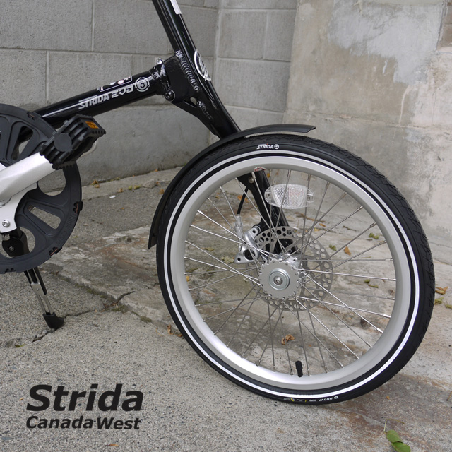 Strida EVO Dark Blue detail