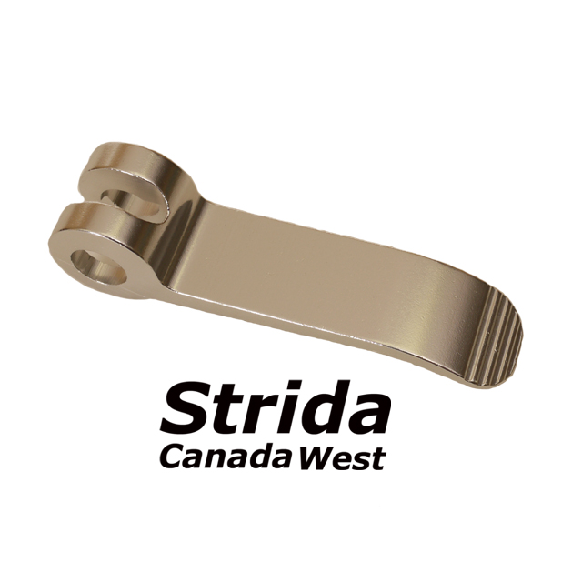 Strida handle bar release lever