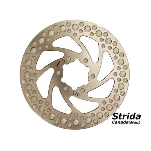 Strida front brake disk