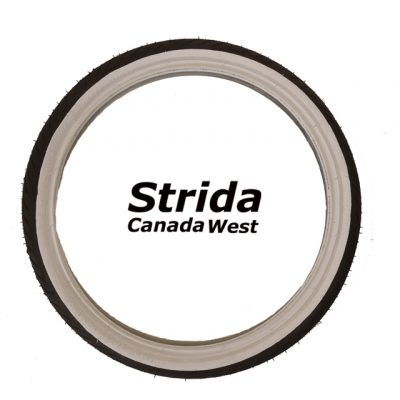 Strida 16 inch white wall tire
