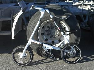 Strida EVO with truck wheels a Strida Canada West Fans