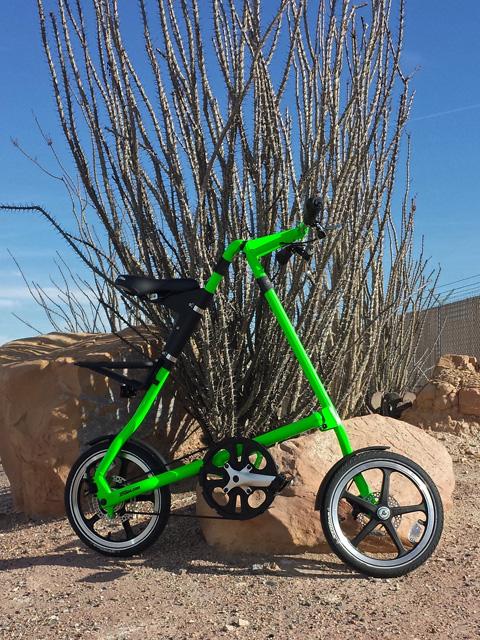 Green Strida in Vegas