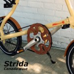 Strida Cream and Brown Lt
