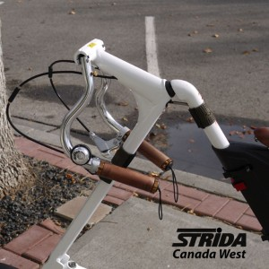Strida M Style Handle Bar detail (Strida M Style Handlebar Review)