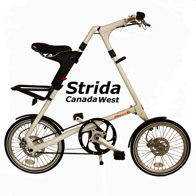 Strida White EVO 18 inch