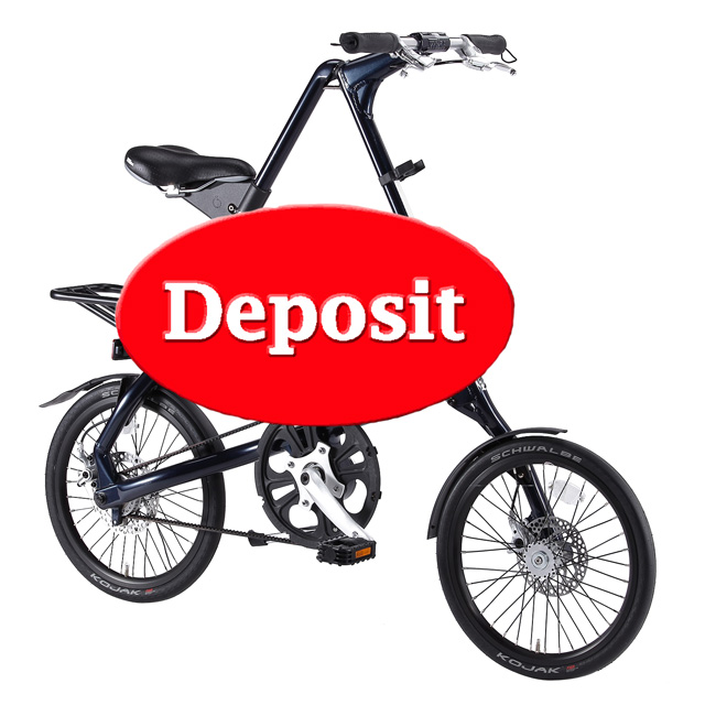 Strida bike deposit