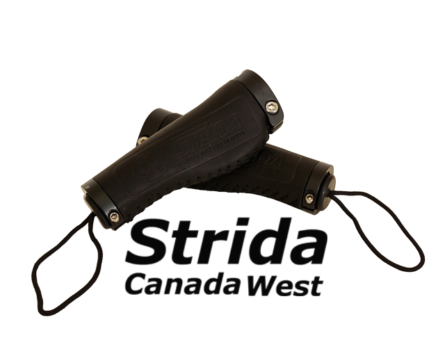 Strida Black Leather Ergo Grip