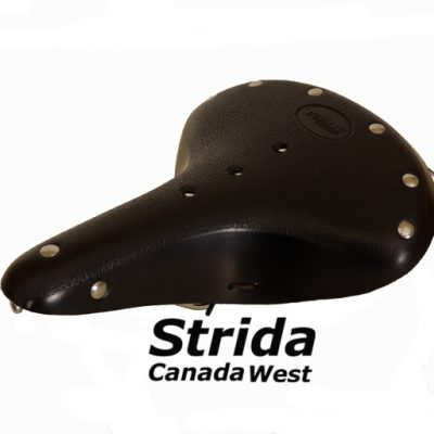 Strida Black Leather Saddle