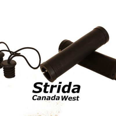 Strida Black Leather Round Grip