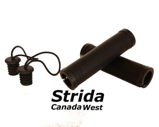 Strida Black Leather Round Grip