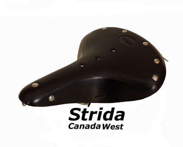 Strida Black Leather Saddle
