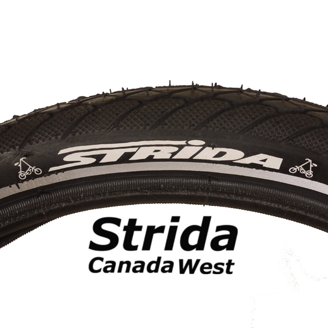 Strida 16 inch tire detail