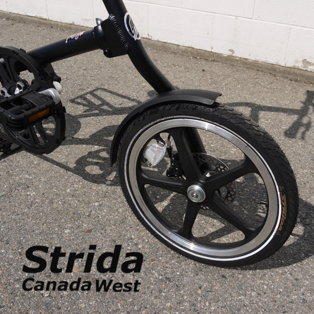 Strida Front 16 inch wheel black