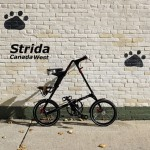 Strida Black EVO 18 Detail