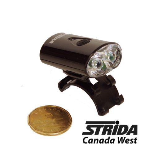 Strida Super Bright Safety Light Black detail 1