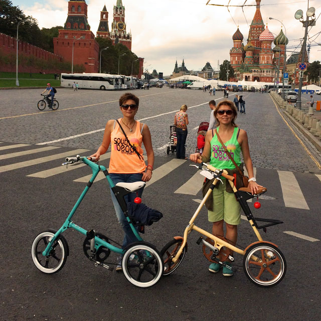 Liliya and Katya in Moscow