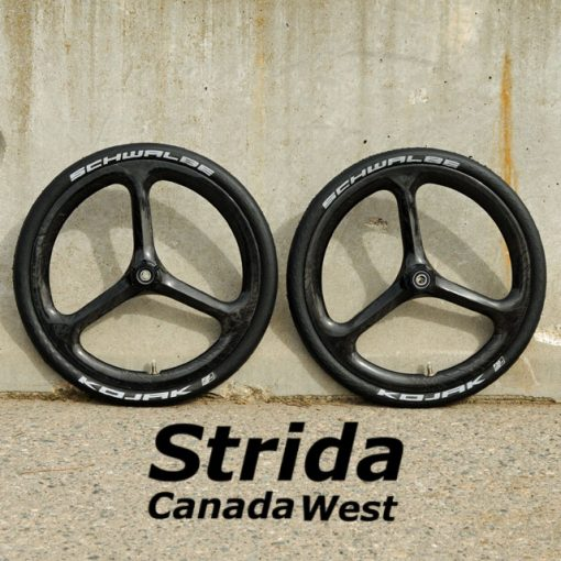 Strida Carbon Fiber Wheel Set
