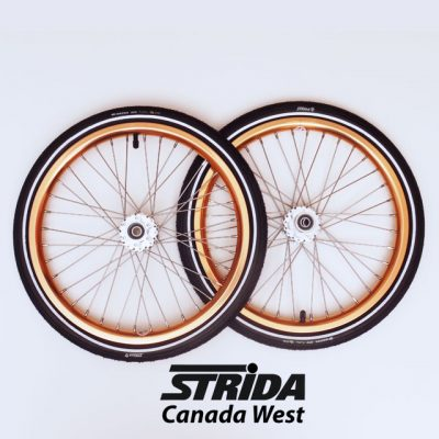 Strida 18 inch Wheel Set Copper