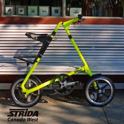 Strida Neon Yellow Lt