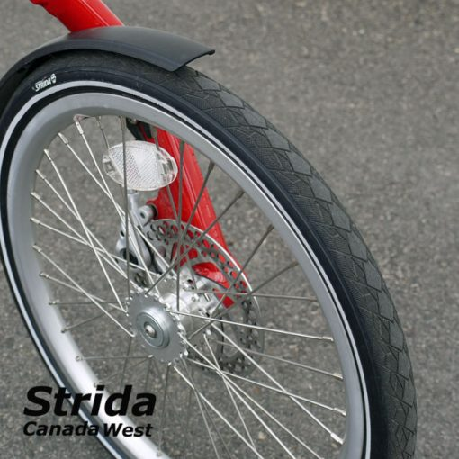 Used Strida Red EVO front tire