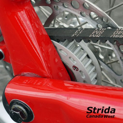 Used Strida Red EVO freewheeel