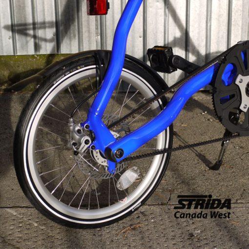Strida folding bikes