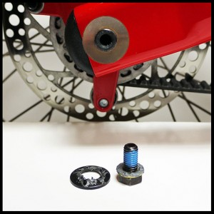 Rear Hinge kit thin SS washer
