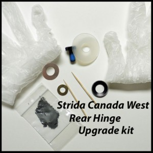 Strida Rear Hinge Upgrade Kit