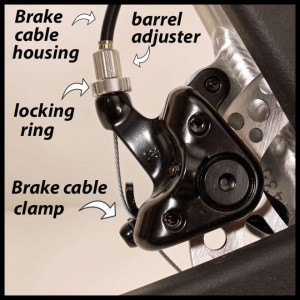 Strida brake tune up