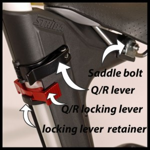Strida Q/R seat mount