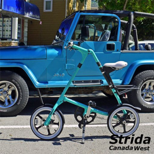 Strida Turquoise LT detail 2