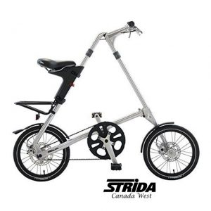 Strida-5.0 (DEMO Strida 5.0 Polished Aluminum)