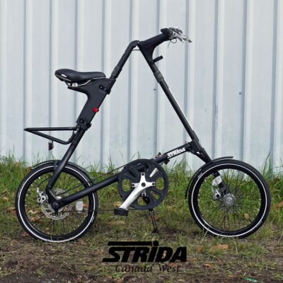 Strida Matte Black SX