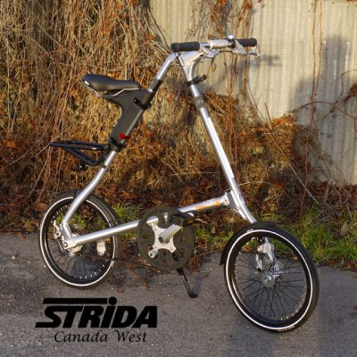 Strida Polished Aluminium