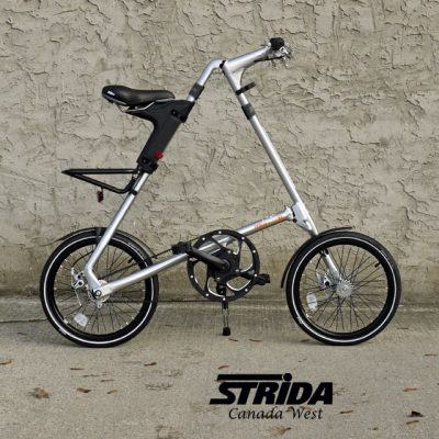 Strida Brushed Aluminum