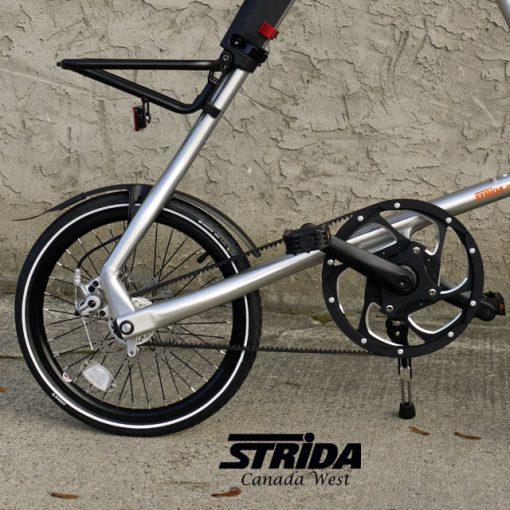 Custom Strida Brushed Aluminum EVO Detail